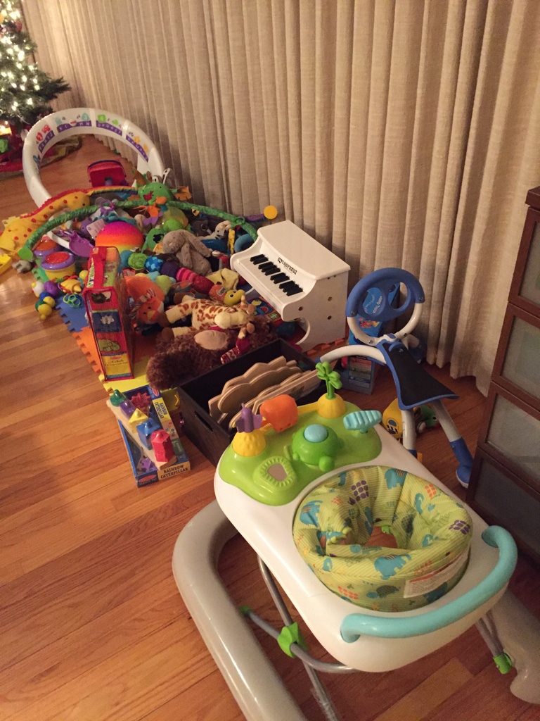 decluttering toys