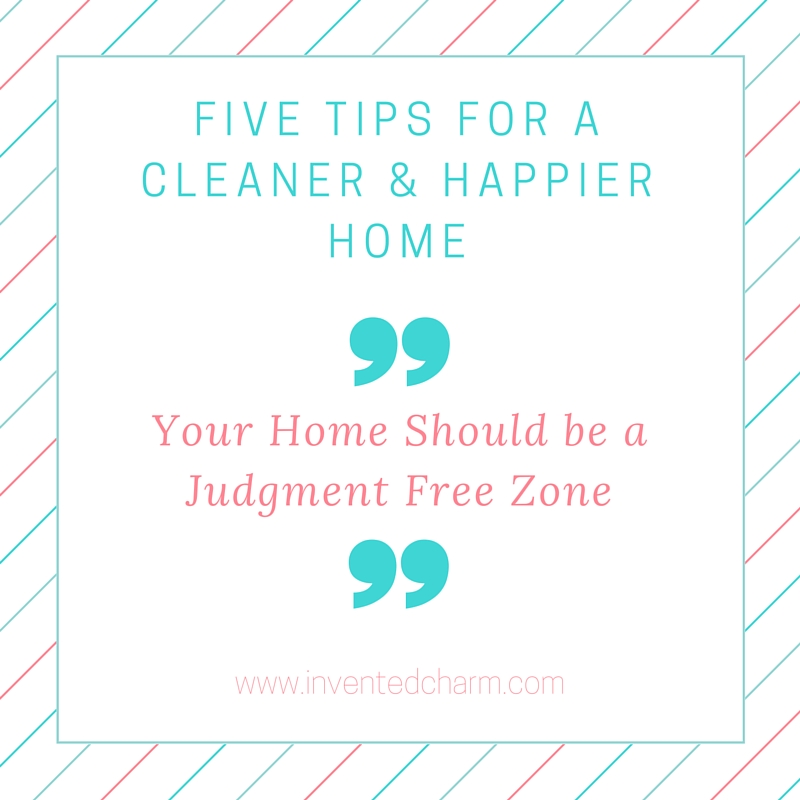 tips for a happier and cleaner home