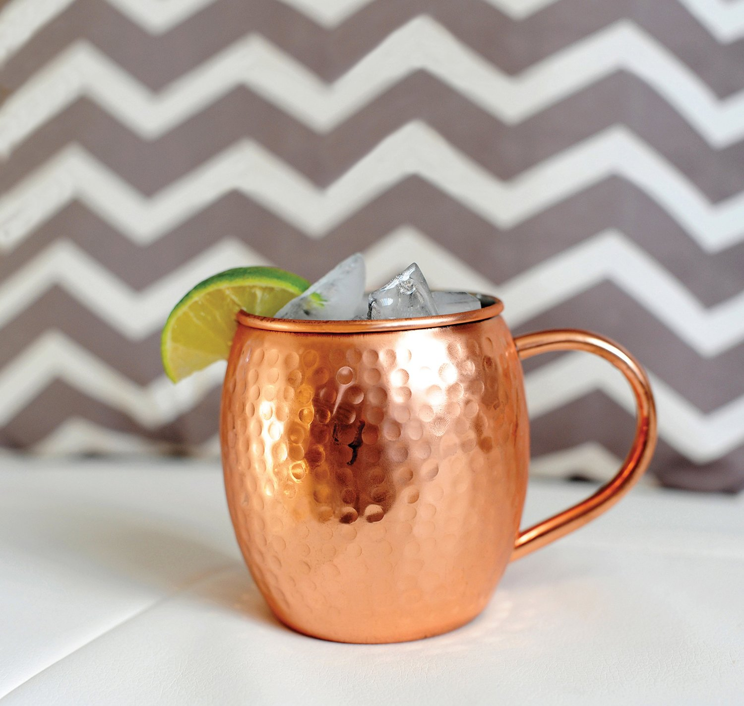 copper mugs by alchemade