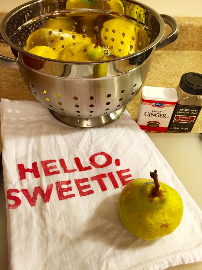 chunky pear sauce recipe