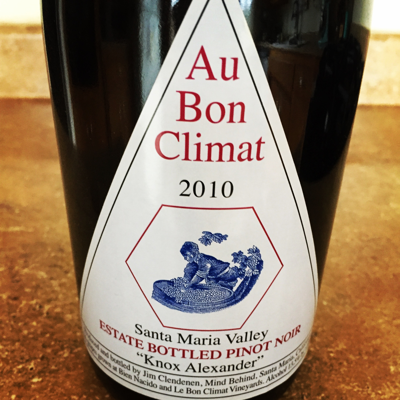 au bon climat wine pinot noir