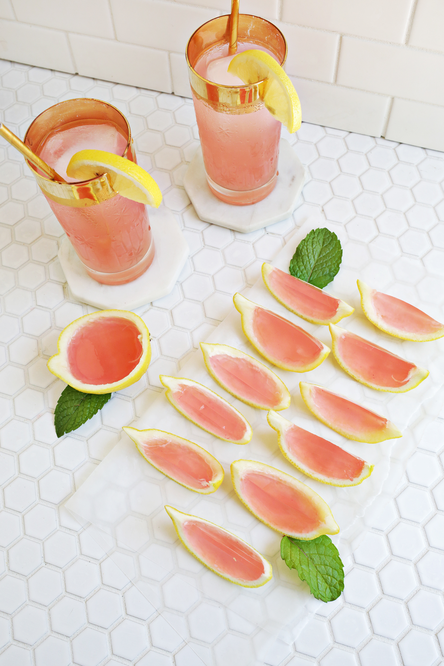 summer treats on a budget you can enjoy at home. host happy hour at your home.