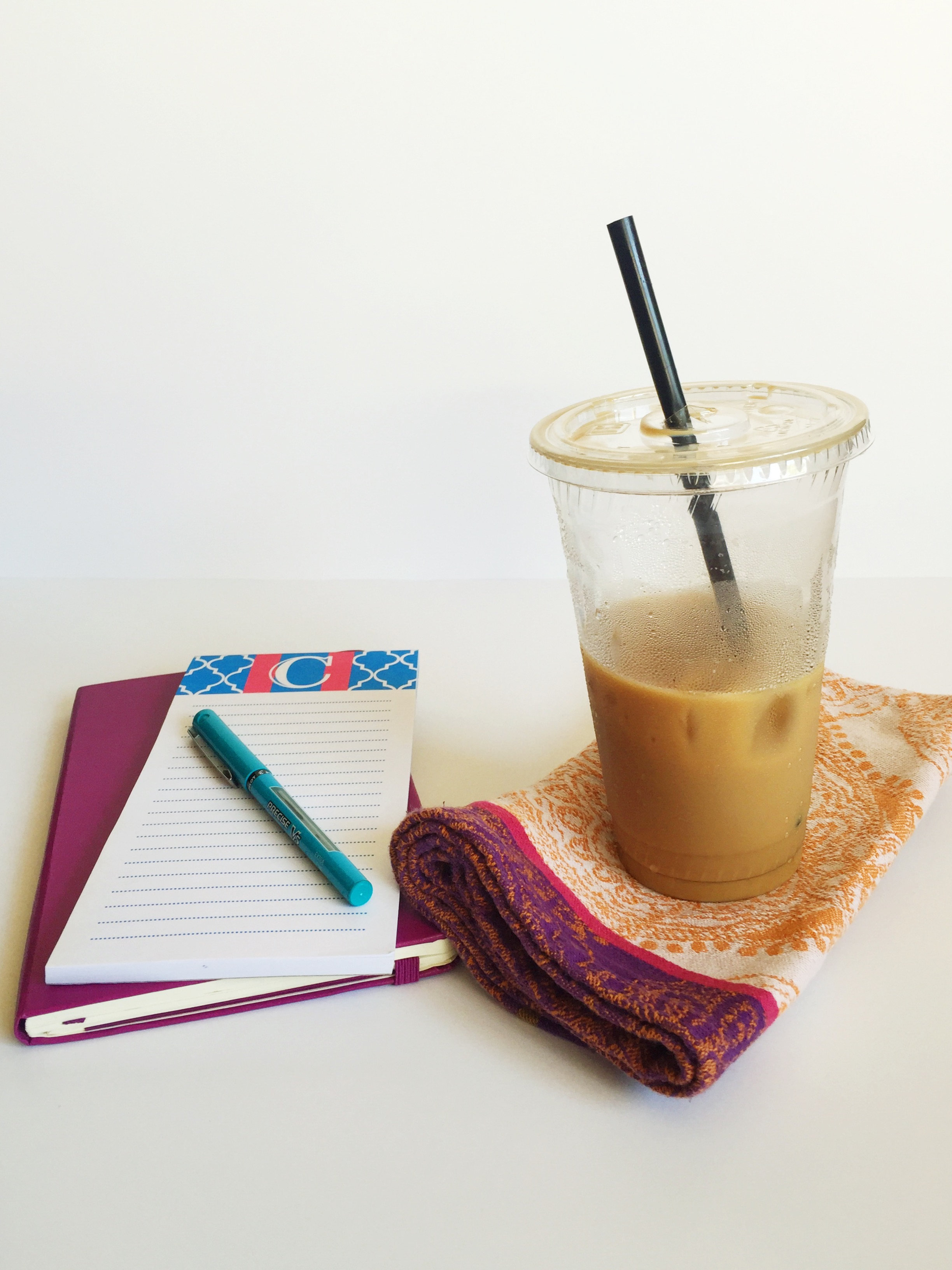iced latte planner and to do list
