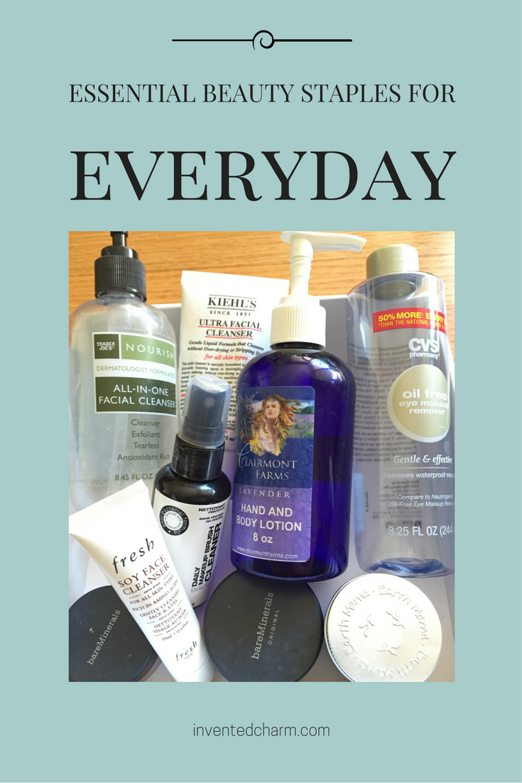 everyday beauty essentials