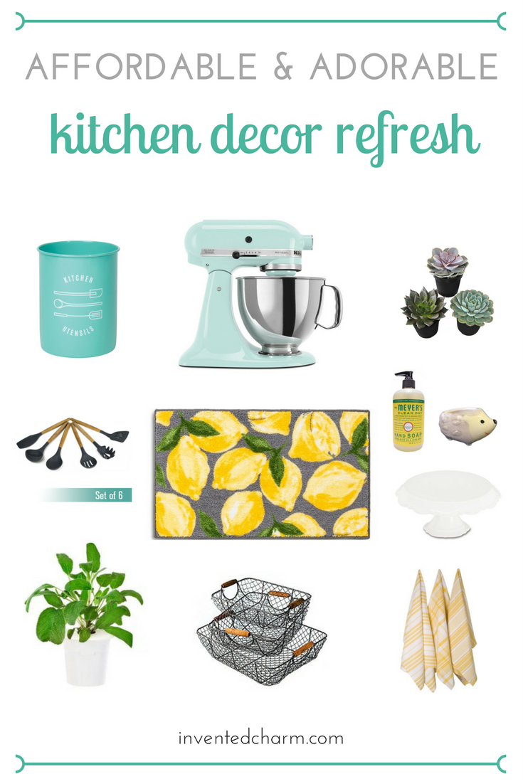 affordable and adorable ideas for an easy kitchen refresh