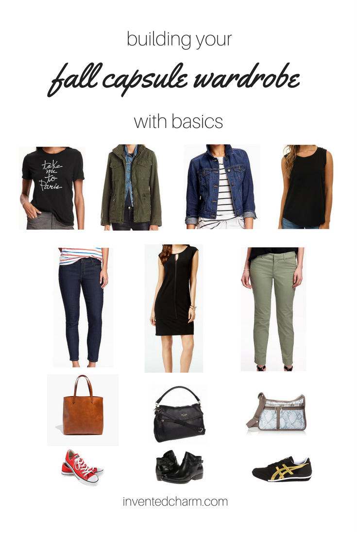 building your fall capsule with basics